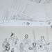 'Flamenco in the Carboneria'; Pen on paper; 20x30cm;