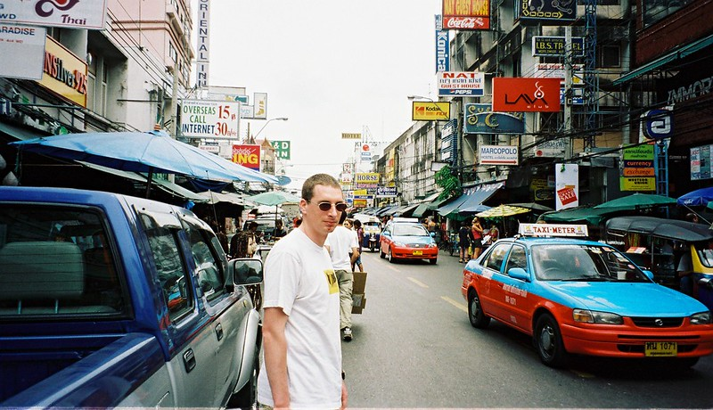Going to see a man about a Cambodian Visa. Bangkok