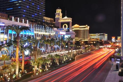 Las Vegas Strip at Night   by wuestenigel