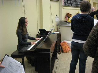 A little rehearsal