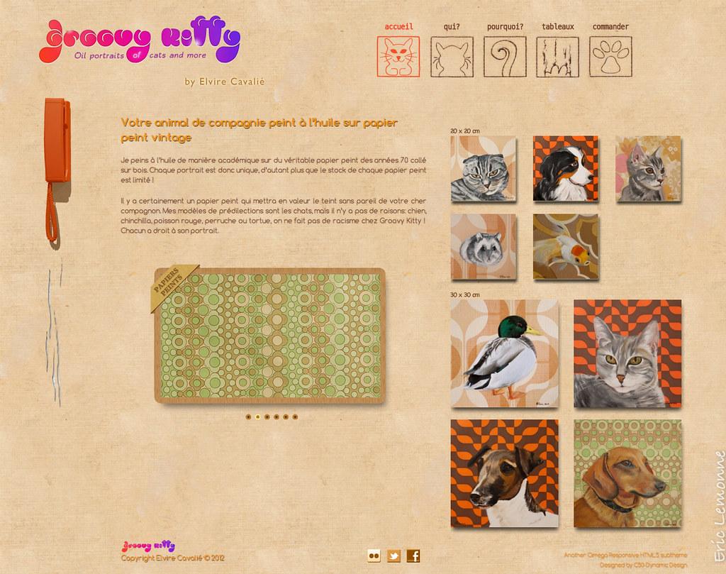 Groovy Kytty - homepage