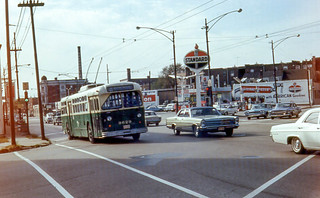 19681005 31 CTA 9629 Belmont Ave. @ Elston Ave. | by davidwilson1949
