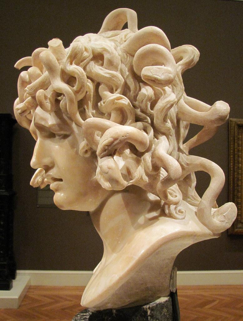 Gian Lorenzo Bernini The Medusa Ca 1638 1648 Carrara