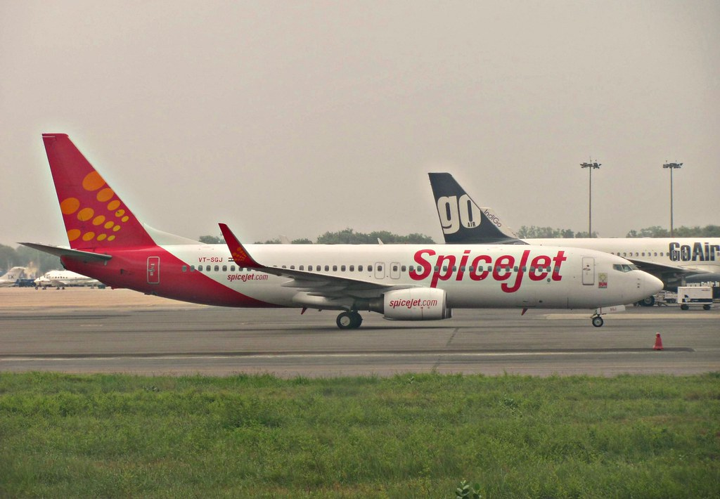 Spicejet, indian airline company