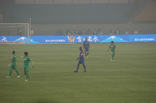 Anelka in Beijing for his first CSL game with Shanghai Shenhua | by Ju1ian