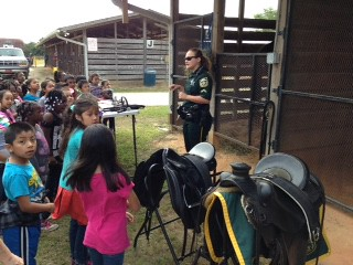 2015 - 1st Grade March 31, 2015 Clarcona Horsemen's Park with Orange County Sheriff's Mounted Unit | by lindarubin51
