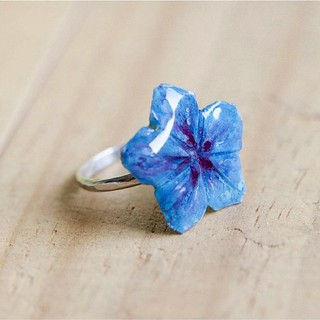 Recycled Paper Blossom Ring | by all things paper