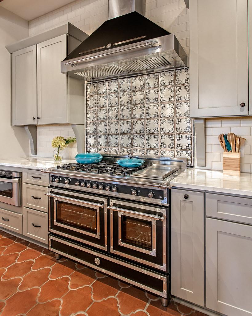 - Kitchen- Tabarka Tile Backsplash Marcelle Guilbeau Flickr