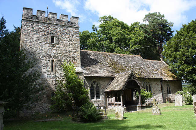 Herefordshire, KNILL, St Michael