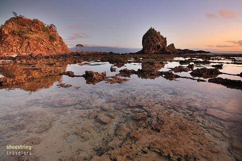 travel sea sun seascape beach water rock sunrise landscape coast seaside outdoor philippines shore aurora baler waterscape diguisitbeach