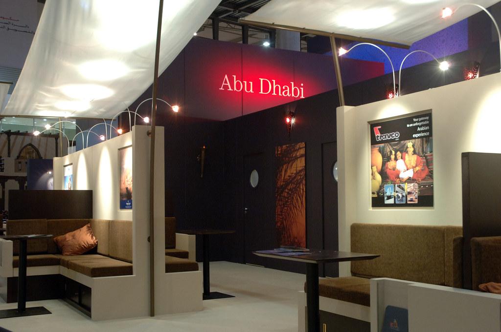 Exhibition Stand Design Abu Dhabi : Abu dhabi tourism authority exhibition stand design at eibu flickr
