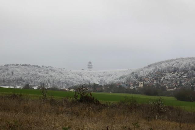L'hiver dans la montagne dijonnaise