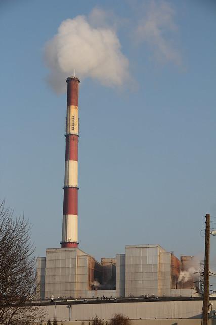 EC Karolin heating plant complex , Poznań 23.01.2017