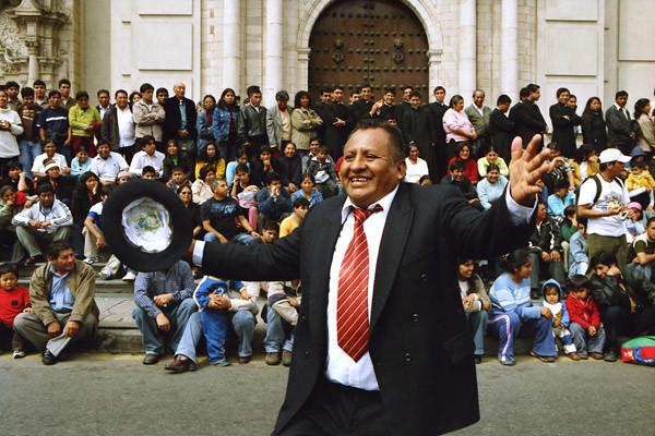 Peru Travel Photography Reisfotografie Lima San Pedro Procession Peru.228 by Hans Hendriksen