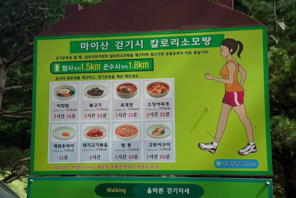 Burning your favourite Korean calories