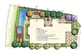 Luxury Landscape Design Plan by Integration Design Studio | by Landscape Design Advisor
