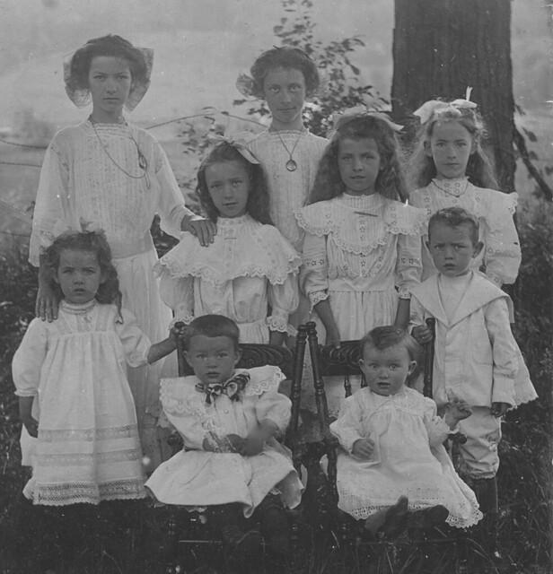 Brown children, Derby, Vermont (obverse)
