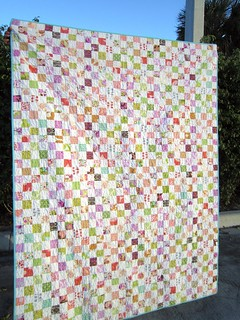 Postage Stamp Quilt | by Elena @ Hot Pink Stitches