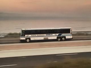 Santa Barbara Airbus bound for LAX on the 101 | by Oran Viriyincy