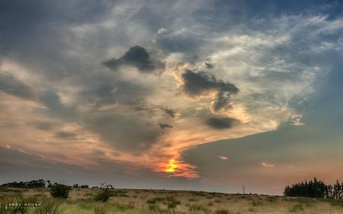 sunset sky clouds scotland unitedkingdom sony gb eastkilbride a99 sonyalpha langlandsmoss andyhough slta99v andyhoughphotography