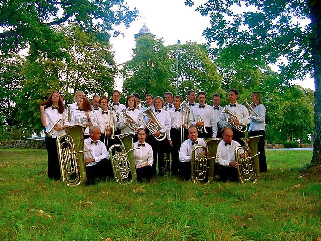 2001 - Brassbandet i kyrkparken