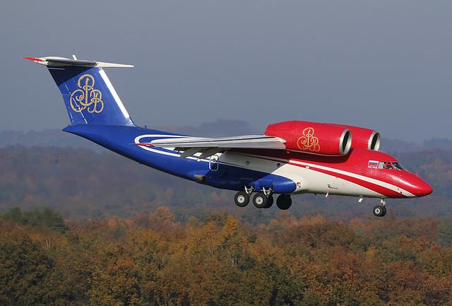 RA-74015 Shar Ink Antonov An-74D