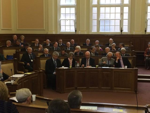Conservative benches at Cambridgeshire County Council, 15 Dec 2015