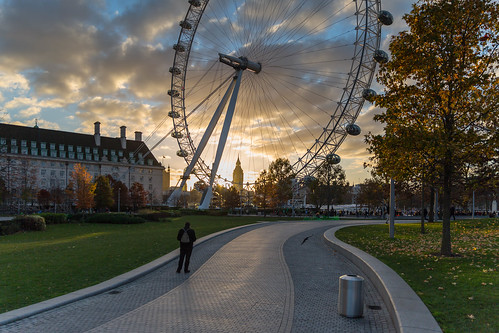 timeoutlondon londonist sunset milleniumwheel bigben cityscape countyhall clouds londoneye visitlondon london landmark jubileegardens elizabethtower attractions sky park architecture ferriswheel places path theguardian
