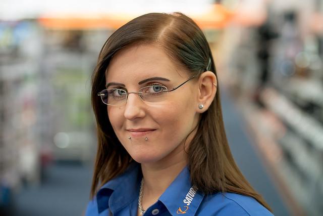 Friendly Saturn sales clerk :-)