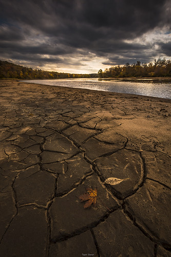 rivers dirt water teganseever light leaves fall autumn beautiful cracks clouds sunset golden hour brown grey gray orange yellow photography perspective pretty nature landscape landscapes dramatic dry stcroix river seever tegan reflections trees tree forest riverside art fine lighting seasons angles