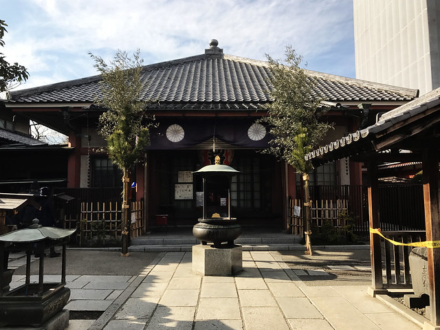 Sensoji Temple Courtyard