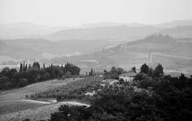 Above the Chianti area