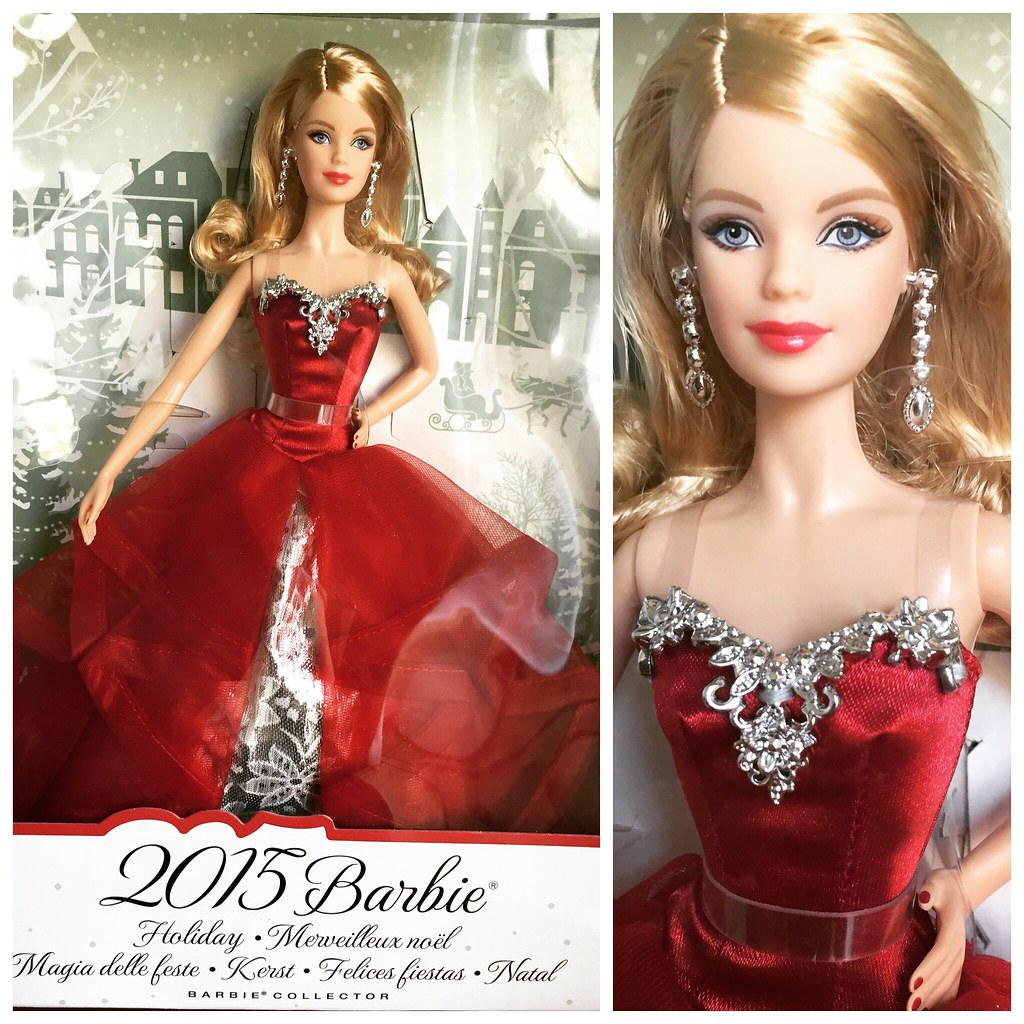 Barbie Noel 2015.Barbie Holiday 2015 Collector Merveilleux Noël Magia D