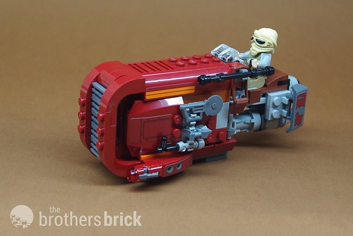Lego Star Wars The Force Awakens 75099 Reys Speeder Review The