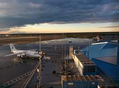 Evening Ramp Scene, Yellowknife Airport