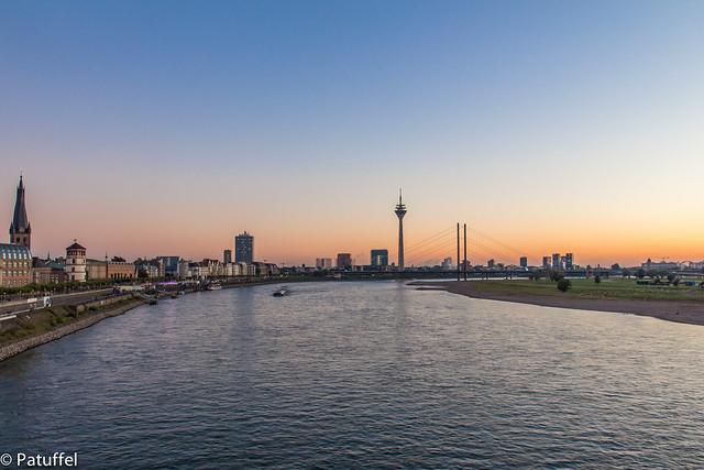 Duesseldorf Sunset