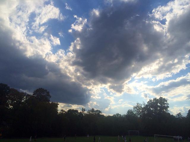 Afternoon Clouds - Washington DC