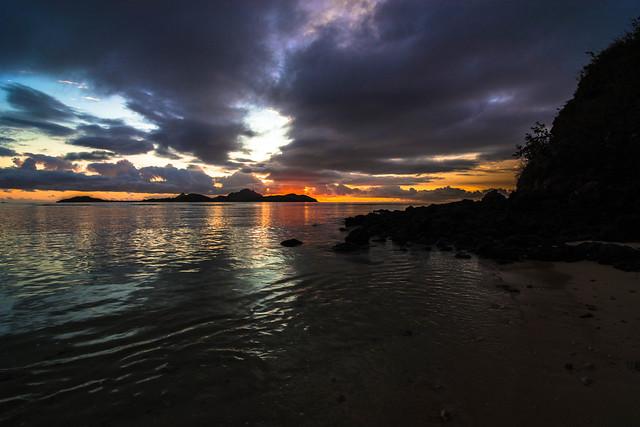 Tokoriki Island Sunset