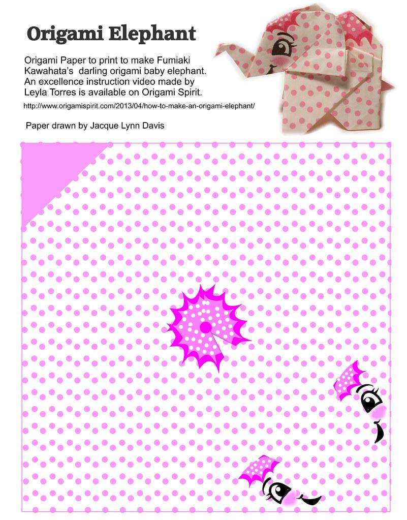How to make an Easy Origami Elephant - DIY Paper Elephant ... | 1023x801