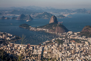 Brazil - A view of Rio de Janeiro from Christ the Redeemer | by sandeepachetan.com