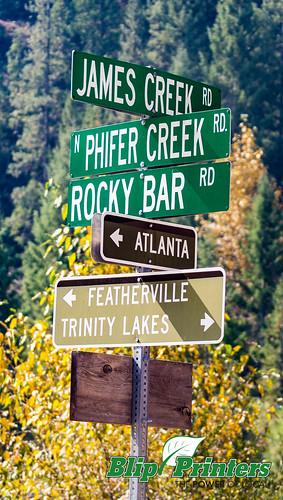 signs unitedstates idaho ghosttown rockybar