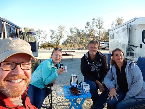 Lake Cahuila - met Birger en Christiane