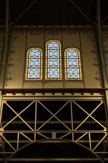 Stained glass @ Notre Dame du Travail @ Paris