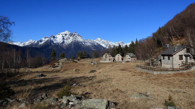 Coipo . Alpe Buscain, Valle d'Ossola