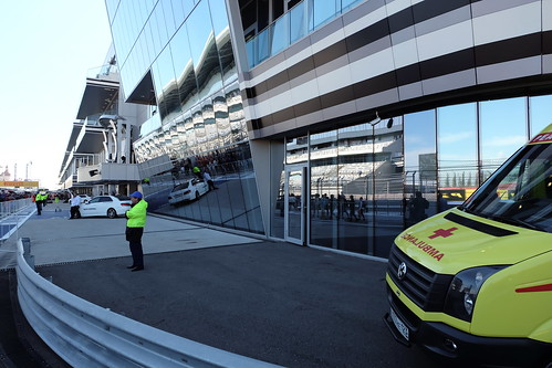 Ambulance on a Race Track | by m1try