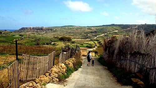 2016 - Europe - Gozo - Beach Day - Path   by SeeJulesTravel