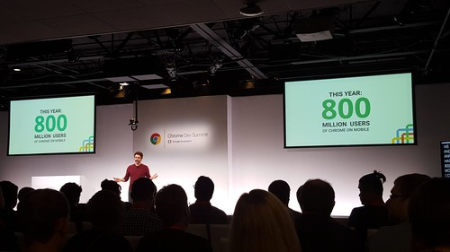 Chrome Dev Summit, Chrome 800 million users | by Robert Nyman