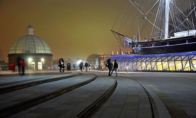 Greenwich  after dark
