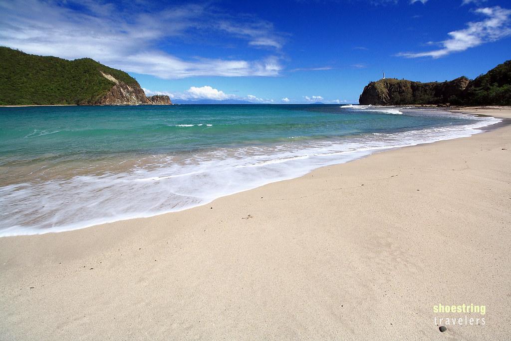 the white sand beach of Dicasalarin Cove, Aurora