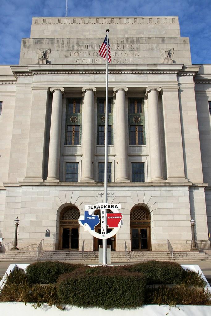 U.S. Post Office and Courthouse (Texarkana, Arkansas-Texas ...
